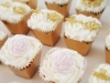 Vintage cupcakes for a tea party