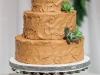 Brian and Rachael's chocolate buttercream groom's cake!