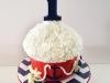 Sebastian's Nautical Large Cupcake Cake