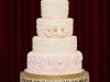 Kristi and Jared's wedding cake
